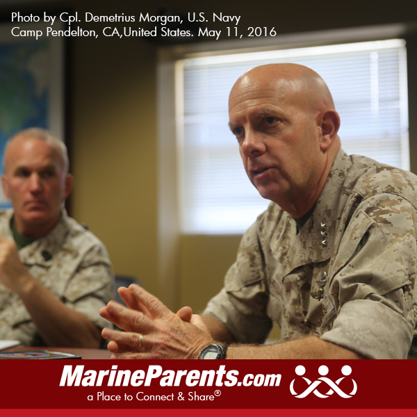 Announcements and News from MarineParents com