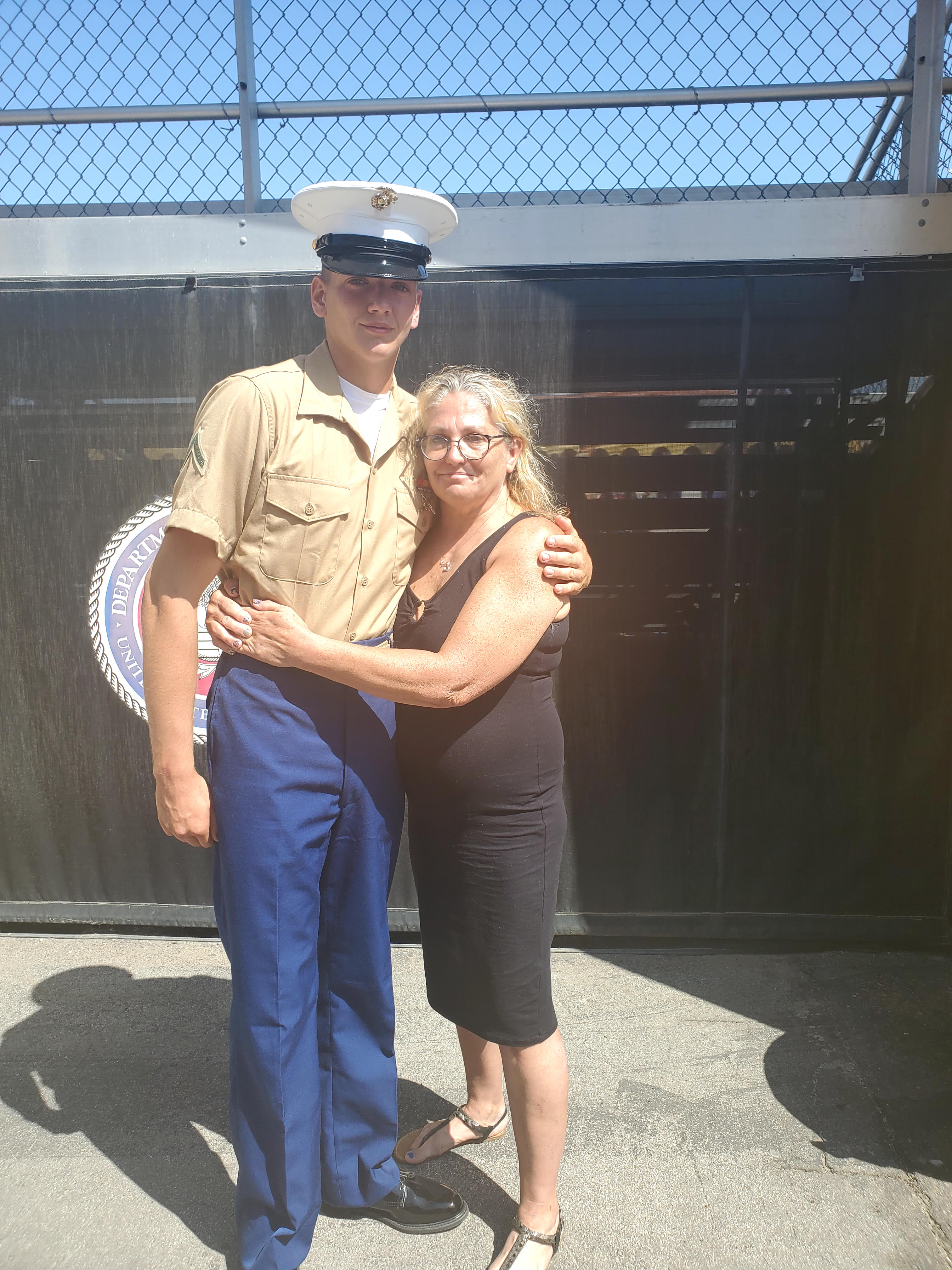 Marine Parents USMC Travel Assistance Boot Camp Graduation