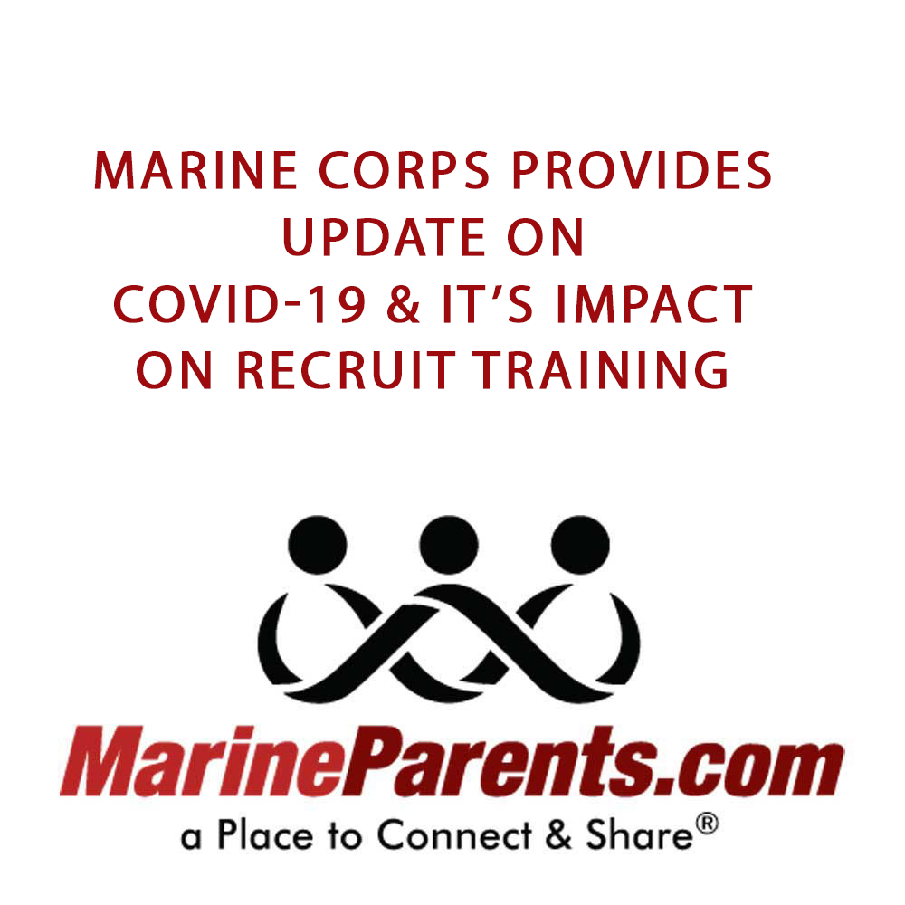Marine Corps Update on COVID-19