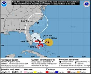 Hurricane Dorian Update