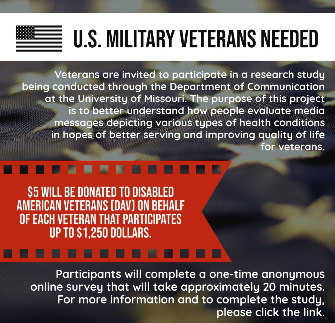 University of Missouri Veteran Study