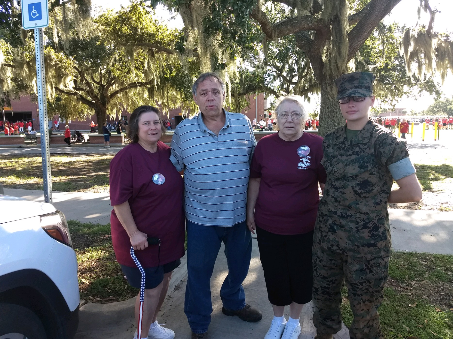 Marine Parents USMC Travel Assistance Boot Camp Graduation