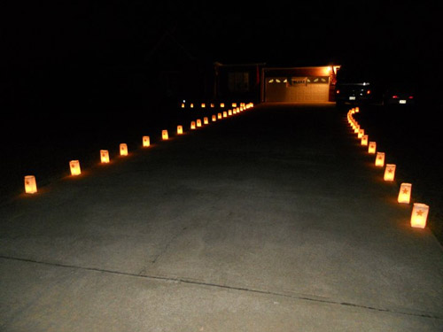 Gold Star Luminaries