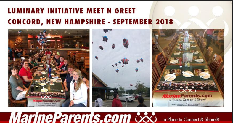 MarineParents.com Meet and Greet New Hampshire, September 8, 2018