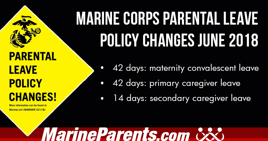 USMC Parental Leave Policy Changes