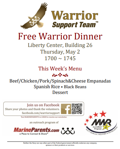 Warrior Support Team Dinner