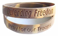 Support Our Troops Wrist Band