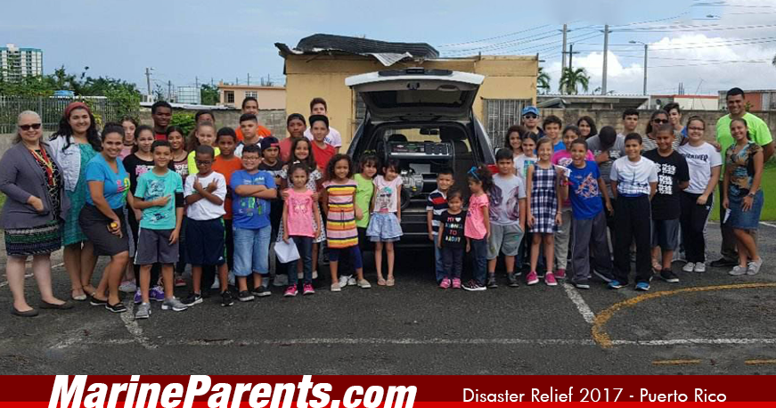 MarineParents Disaster Relief