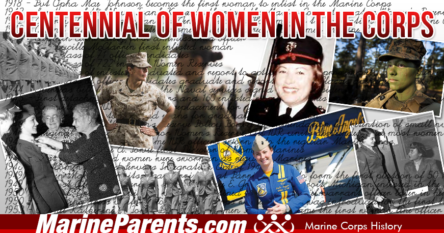 Centennial of Women in the Corps