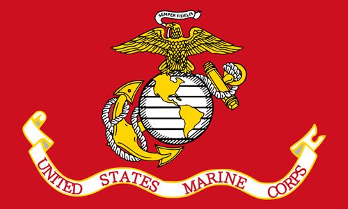 Marine Corps History: Marine Corps Flag