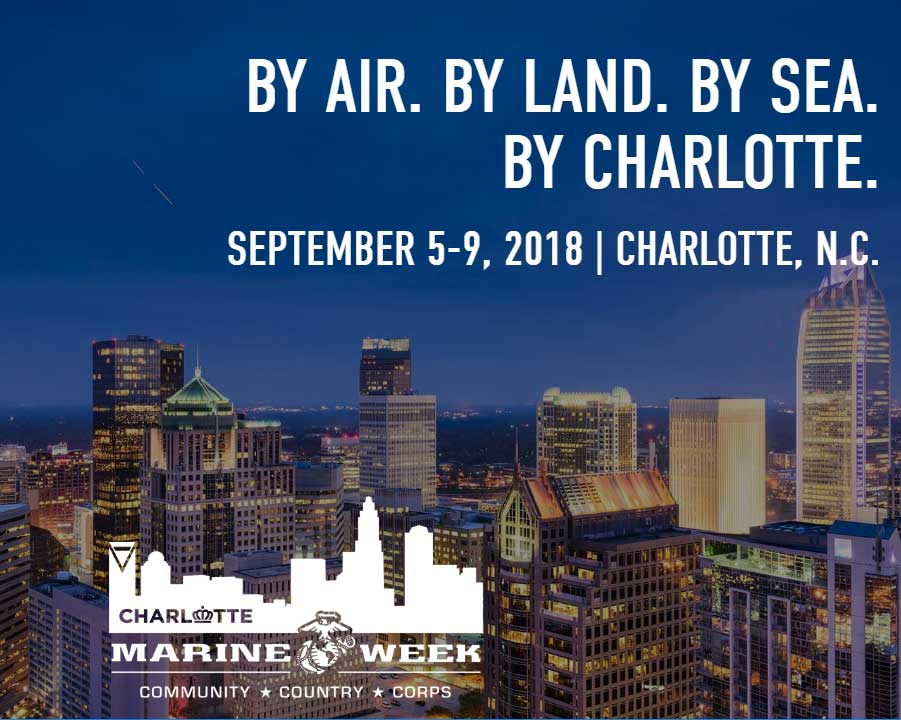 Marine Week 2018, Charlotte, NC September 5-9