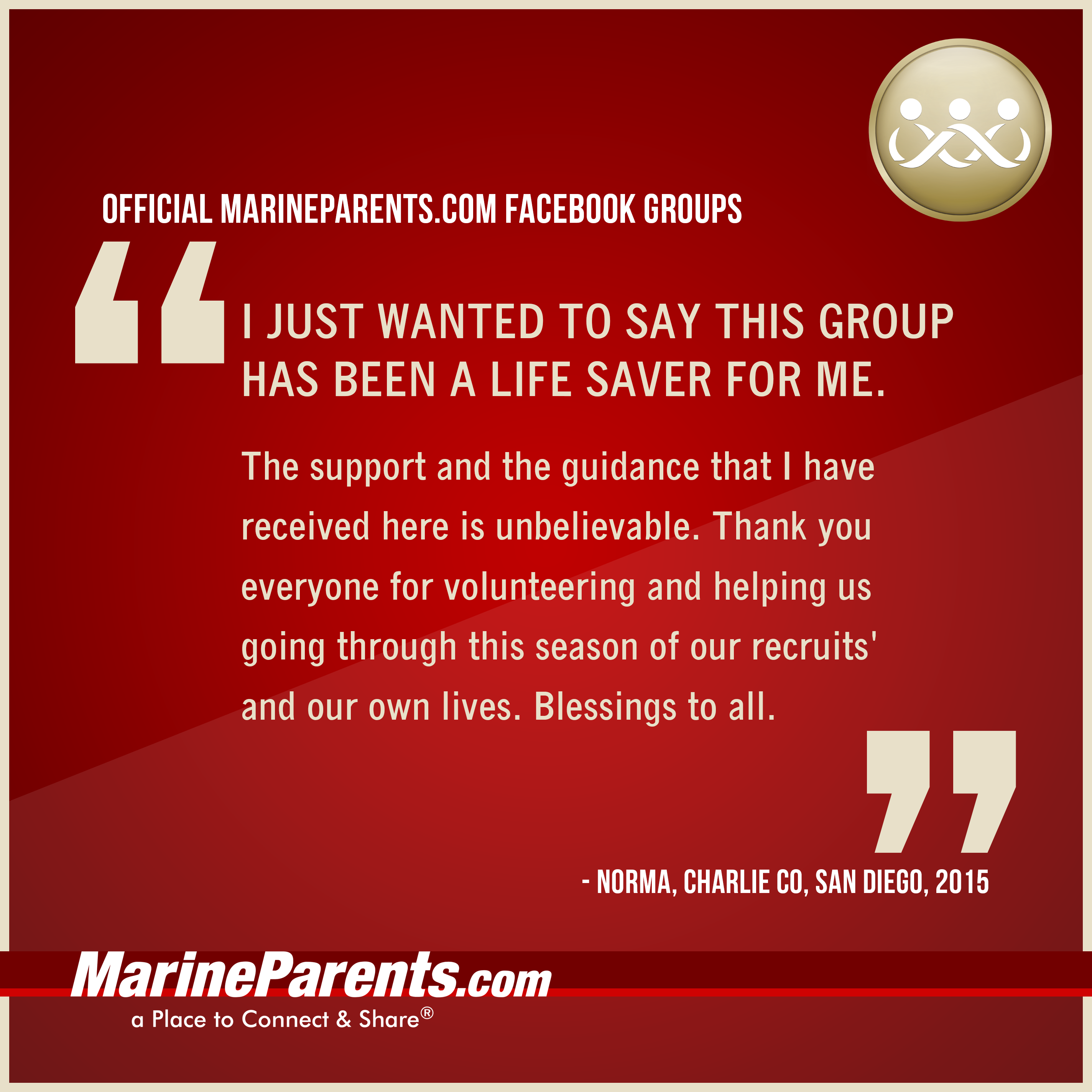 Quotes about MarineParents.com