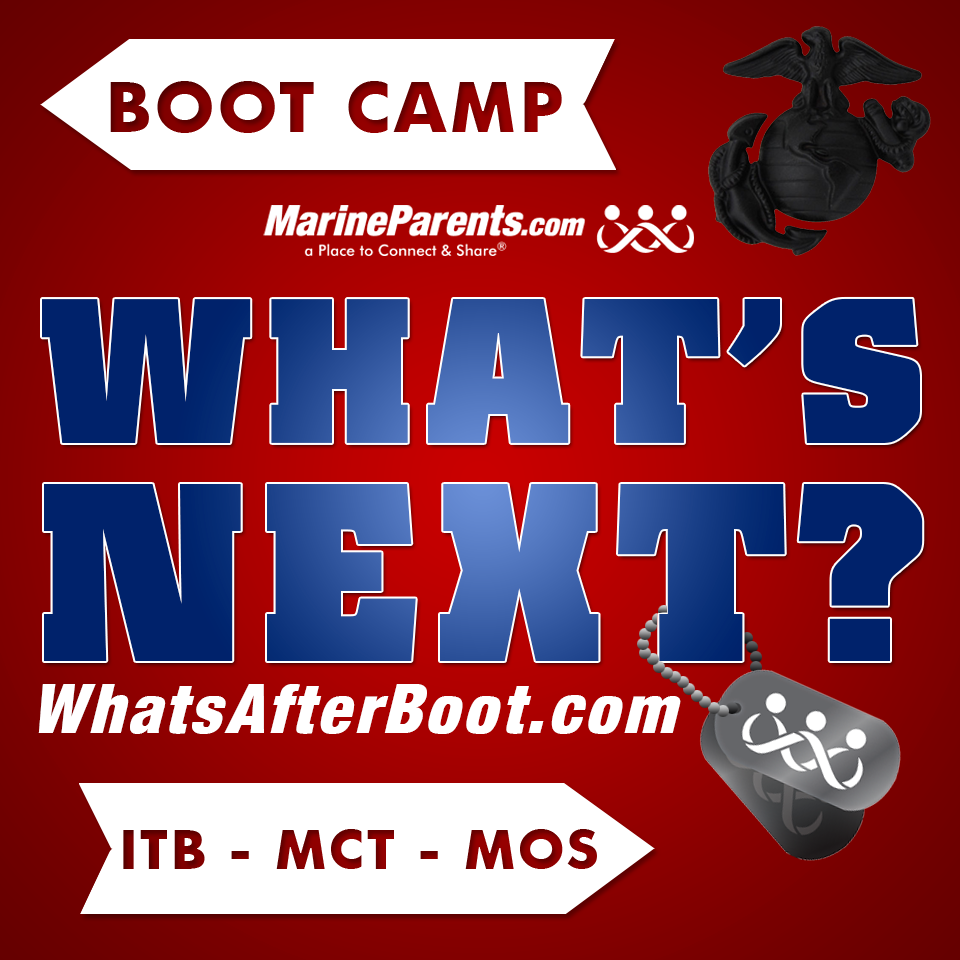 What's After Boot Camp MarineParents.com