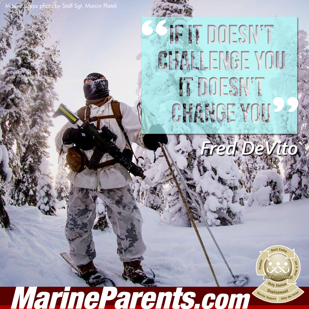 MarineParents.com USMC challenge brings change