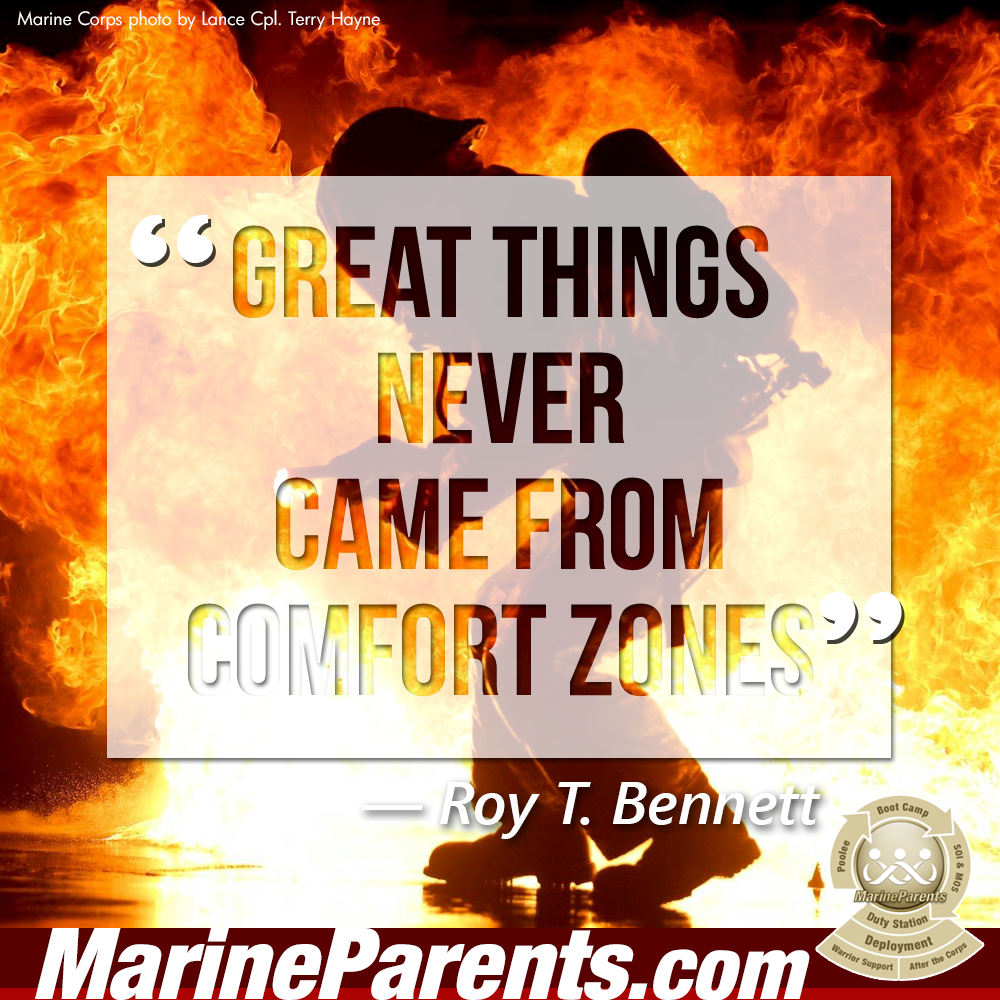 MarineParents.com USMC comfort zone