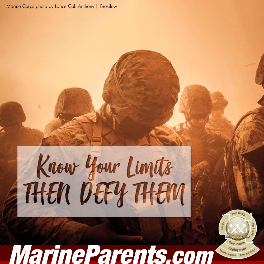 MarineParents.com USMC defy your limits