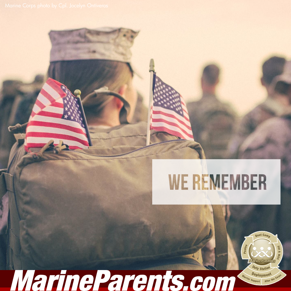 MarineParents.com USMC remember