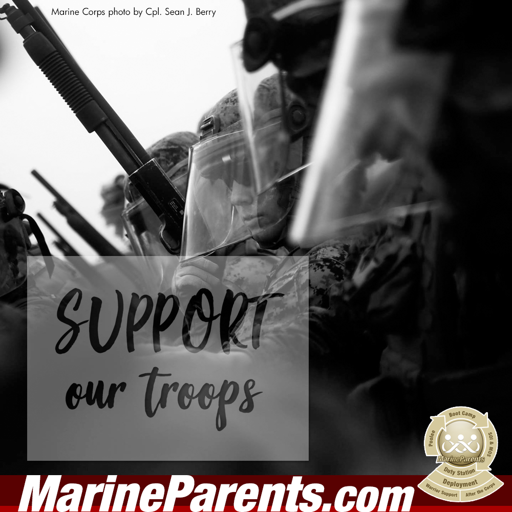 MarineParents.com USMC support our troops