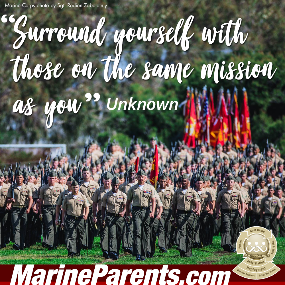 MarineParents.com USMC surround yourself