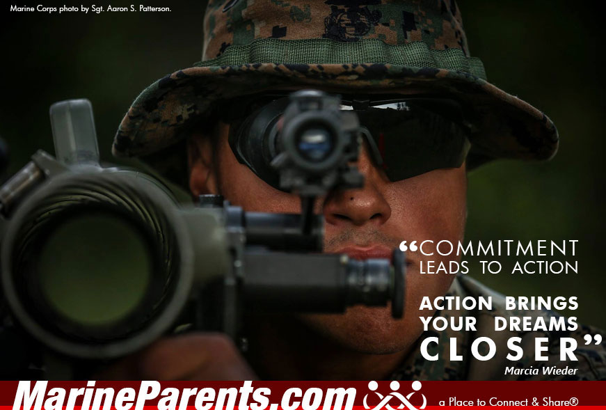 MarineParents.com USMC dreams closer