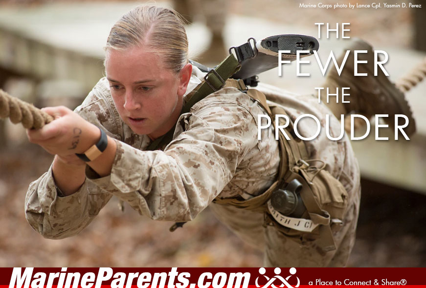 MarineParents.com USMC the fewer the prouder