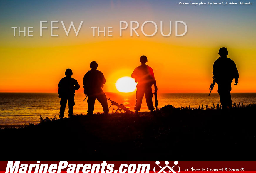 MarineParents.com USMC the few the proud