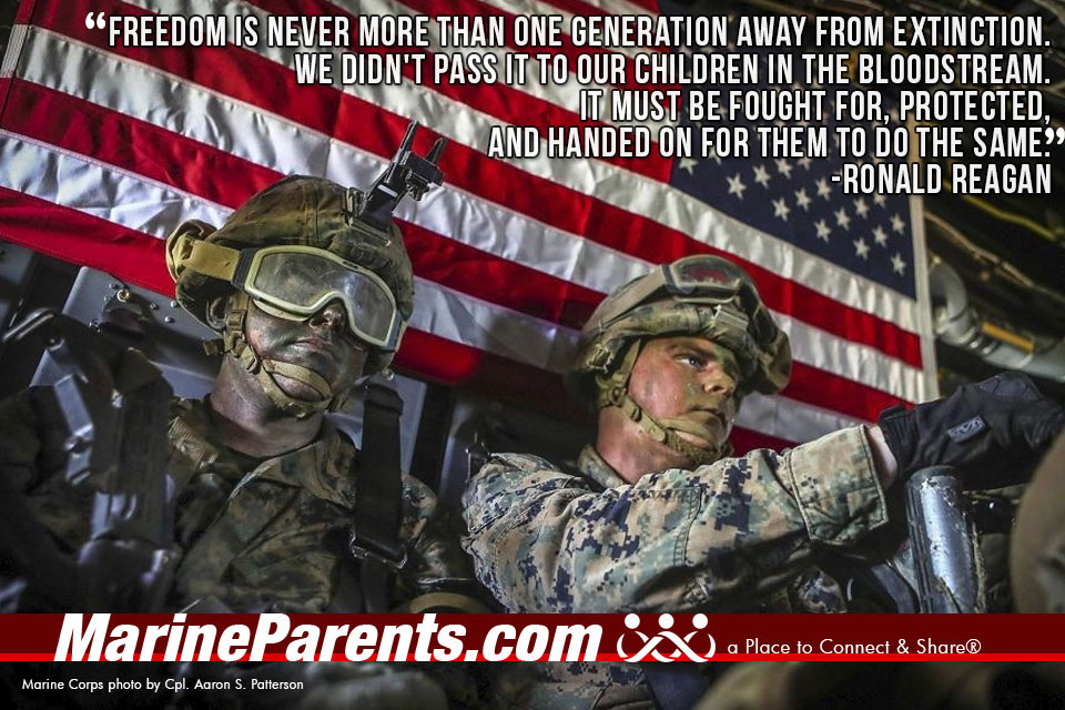 MarineParents.com USMC freedom extinction