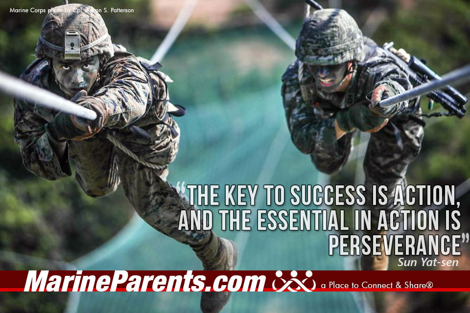 MarineParents.com USMC key to success