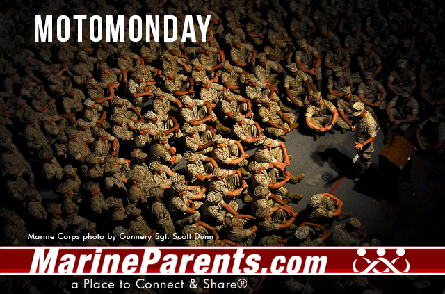 MarineParents.com USMC moto monday #motomonday