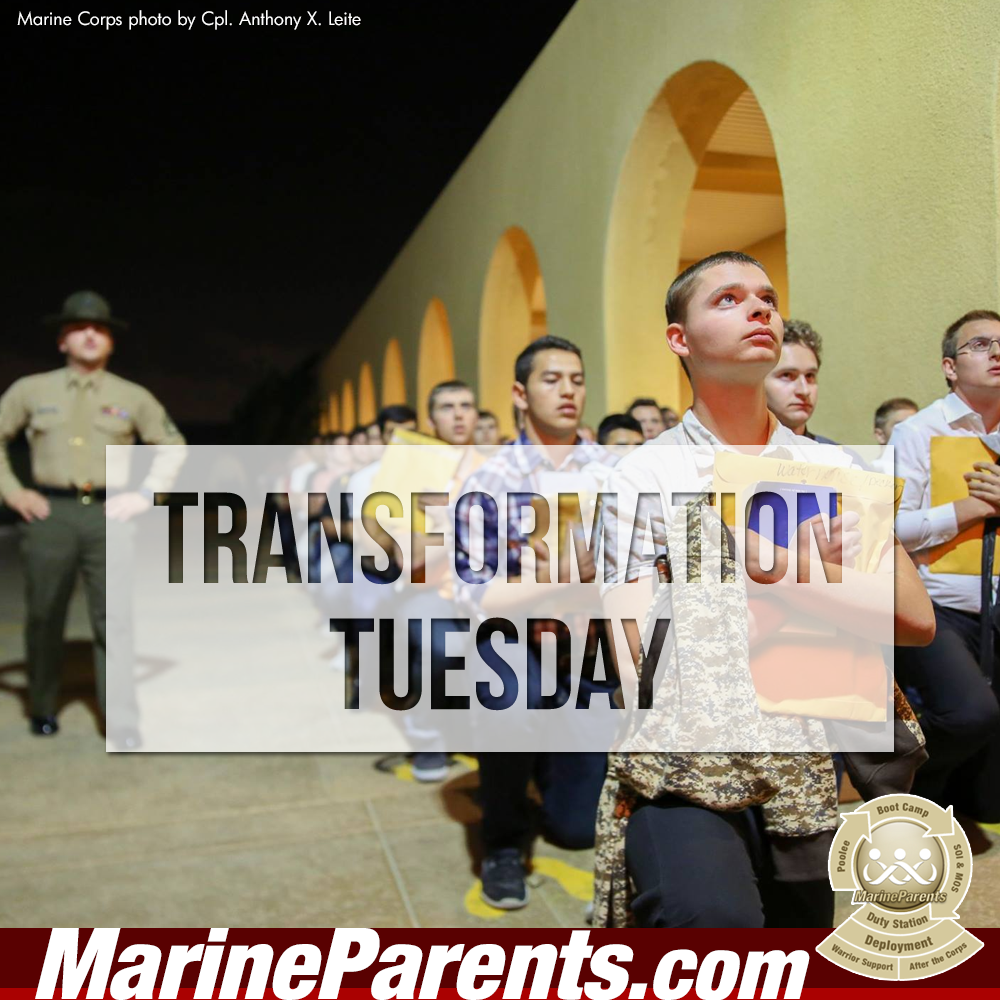 MarineParents.com USMC transformation tuesday #TRANSFORMATIONTUESDAY