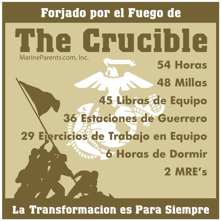 MarineParents.com Español crucible