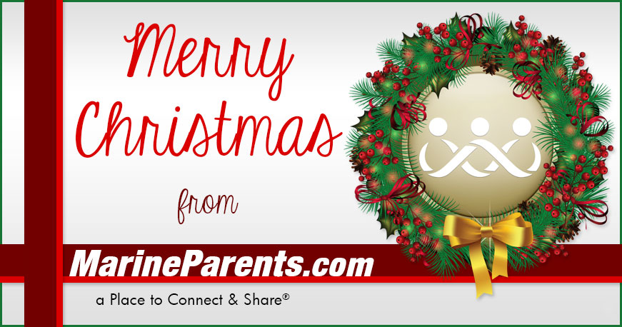 MarineParents.com USMC Merry Christmas