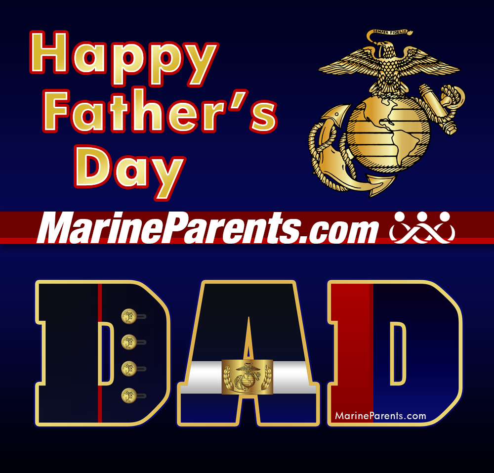 MarineParents.com USMC Father's Day