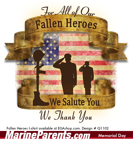Memorial Day MarineParents.com