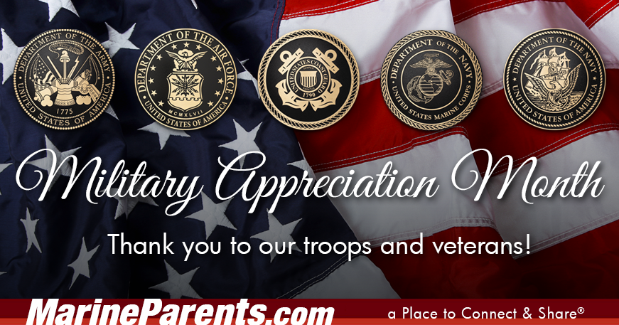 MarineParents.com USMC Military Appreciation