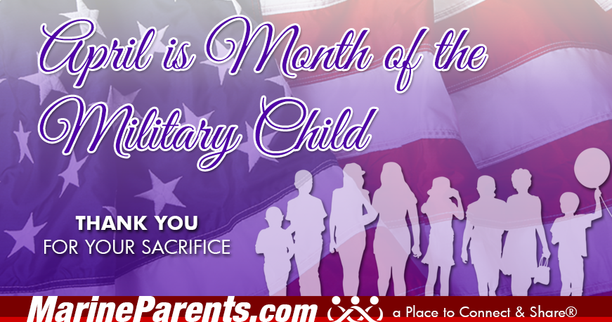 MarineParents.com USMC Month of the military child