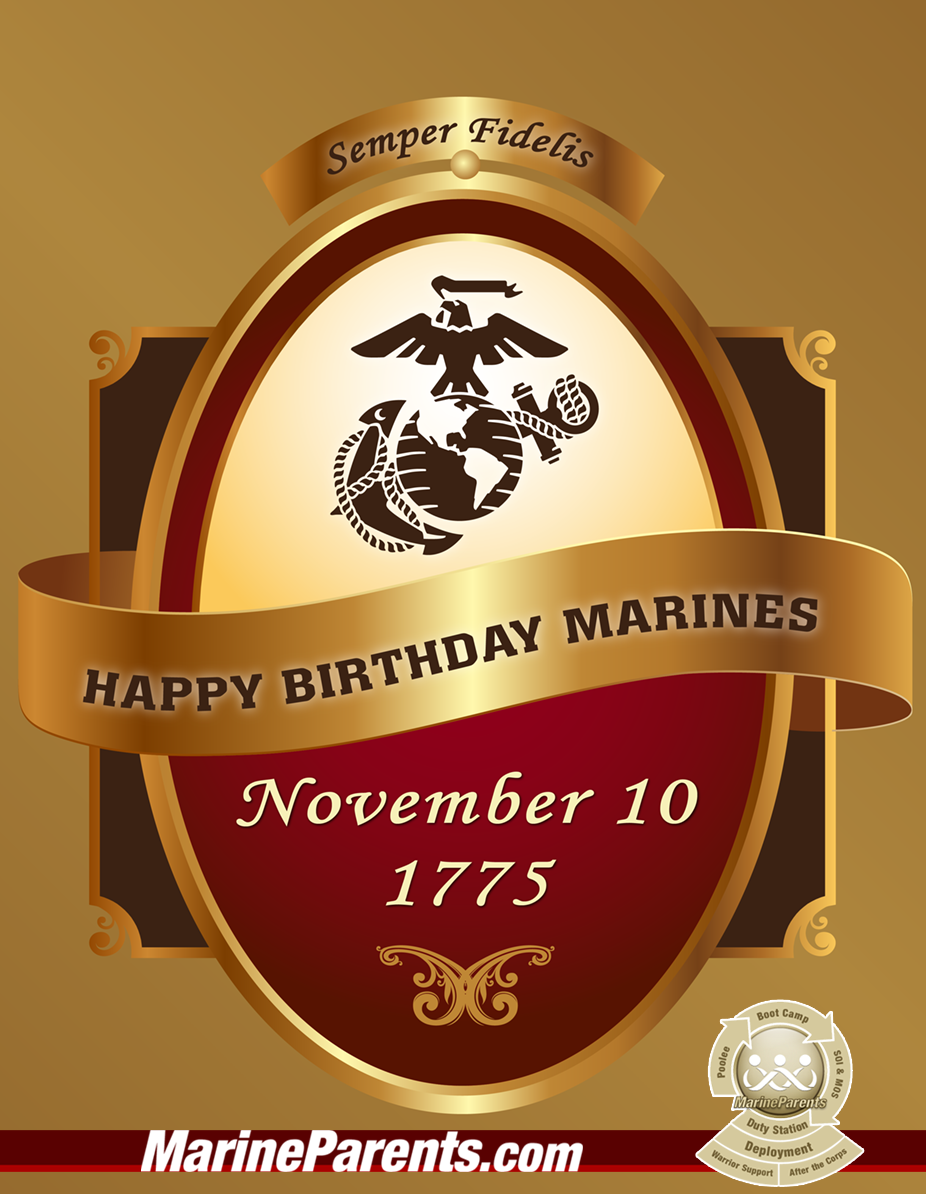 MarineParents.com USMC Birthday