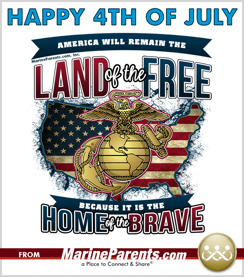 MarineParents.com USMC July 4th