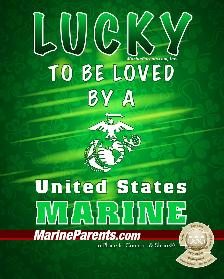 MarineParents.com USMC St. Patrick's Day