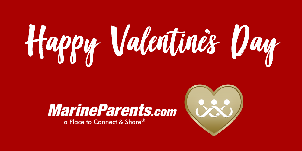 MarineParents.com USMC valentine's day