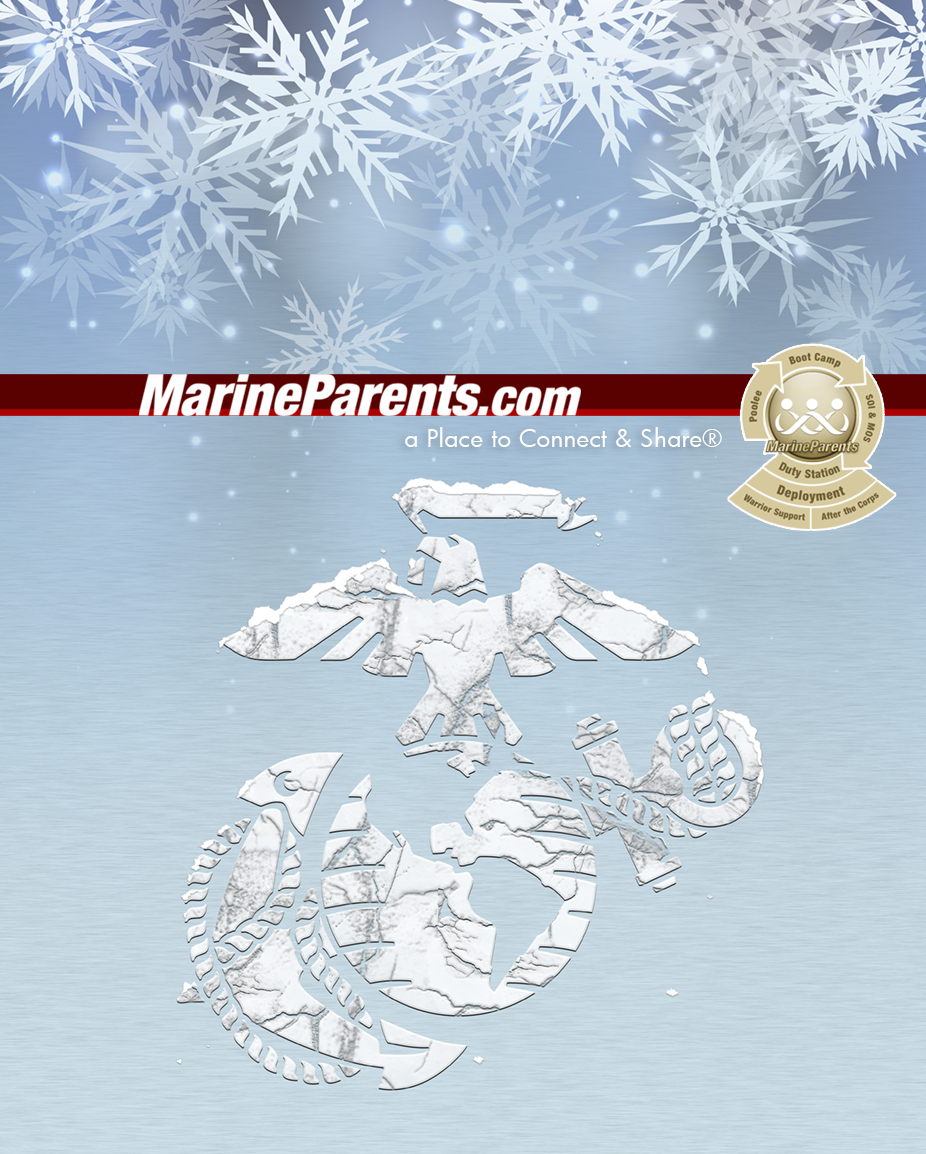 MarineParents.com USMC winter EGA