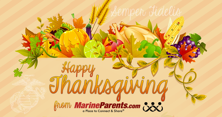 MarineParents.com USMC Thanksgiving