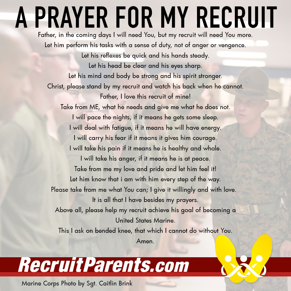 RecruitParents.com USMC the crucible prayer