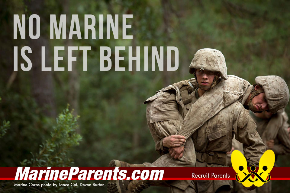 RecruitParents.com USMC no Marine left behind