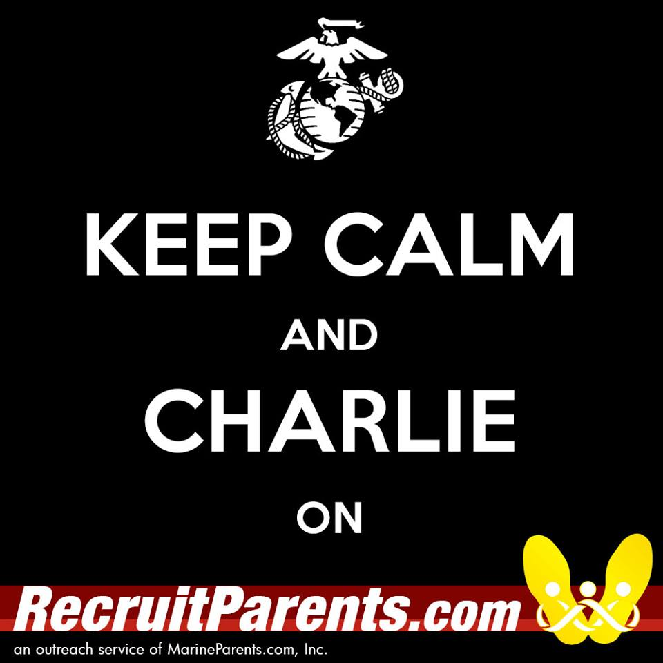 RecruitParents.com USMC keep calm charlie