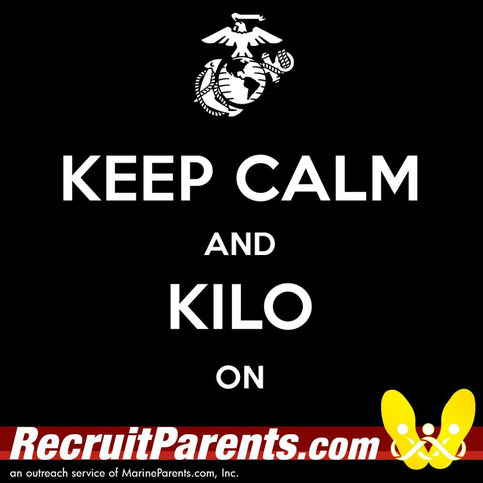 RecruitParents.com USMC keep calm kilo