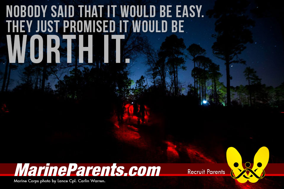 RecruitParents.com USMC not easy but worth it