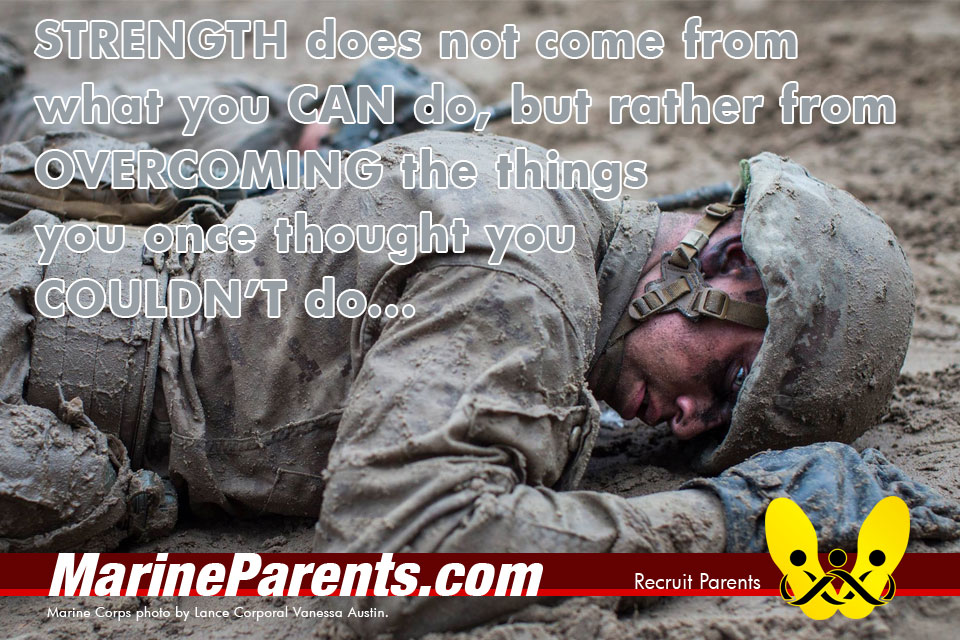RecruitParents.com USMC strength comes from