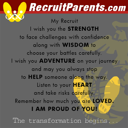 RecruitParents.com USMC Transformation Begins