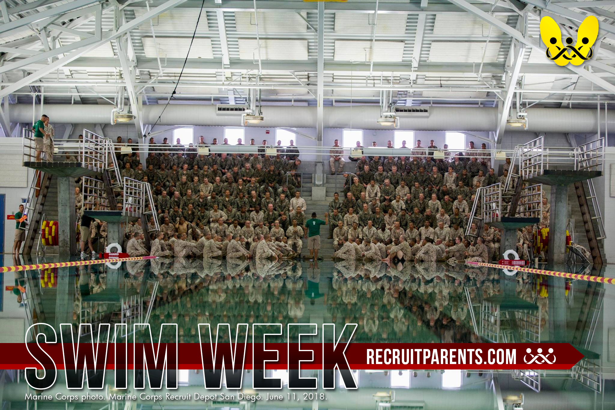 RecruitParents.com USMC Swim Week